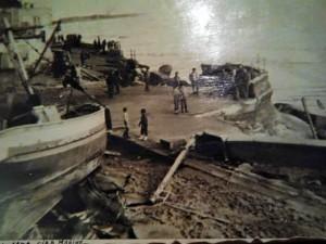 Mareggiata del 1972 a Cirò Marina